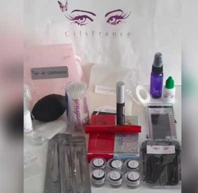 CilsFrance Eyelash Extensions, Supplies & Training classic